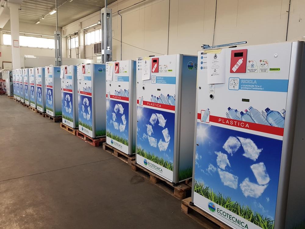 macchine per il riciclaggio